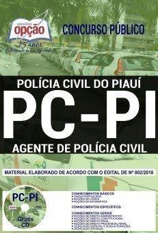 Apostila Concurso PC PI 2018 | AGENTE DE POLÍCIA CIVIL