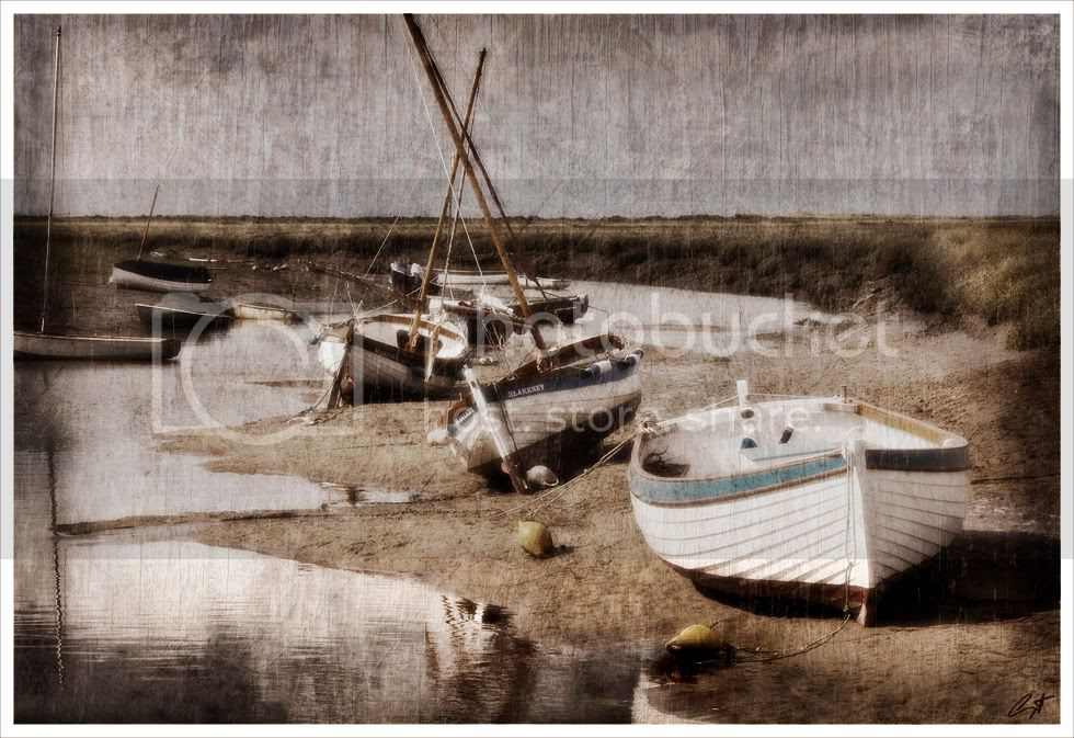 Blakeney,Norfolk,Boat,Texture