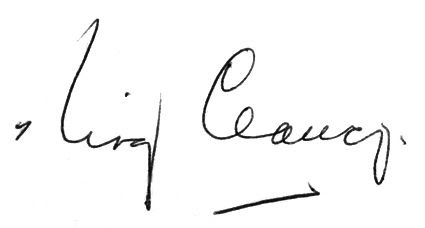Clancy Autograph, Clancy Autograph