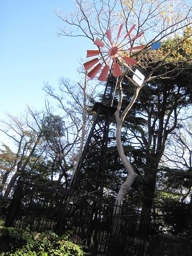 フランス山的風車