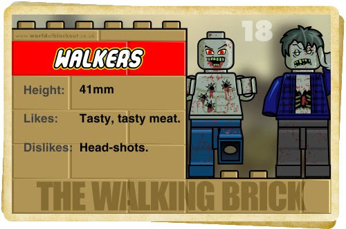 Slightly Inappropriate Lego #18 : Walkers (1)
