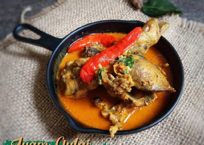 Resep Membuat Ayam gulai Yang Enak