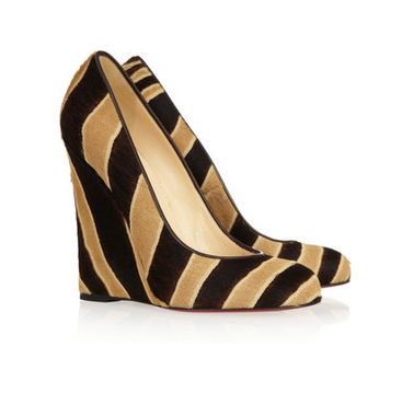 Daily Crush: Christian Louboutin Lady Lynch Wedges (our 2nd order after launch)