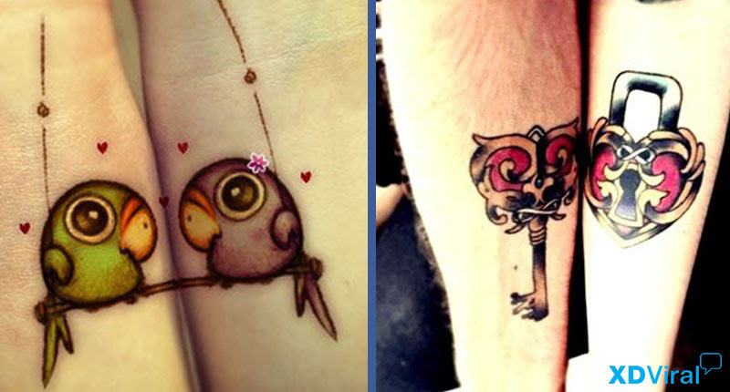 9 Beautiful Tattoos For Lovers Xdviral