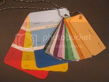 Paint Color Cards