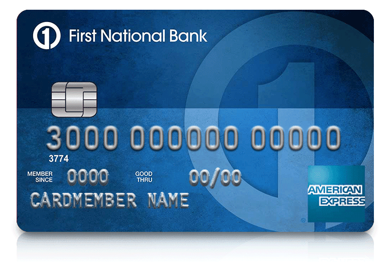 First National Bank American Express Card Promotion: $100 ...