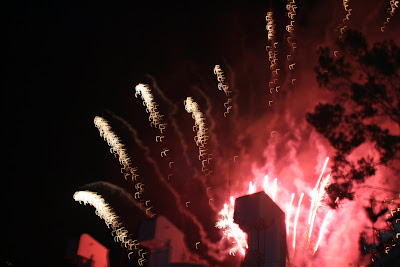Firework spectacular at the Hollywood Bowl