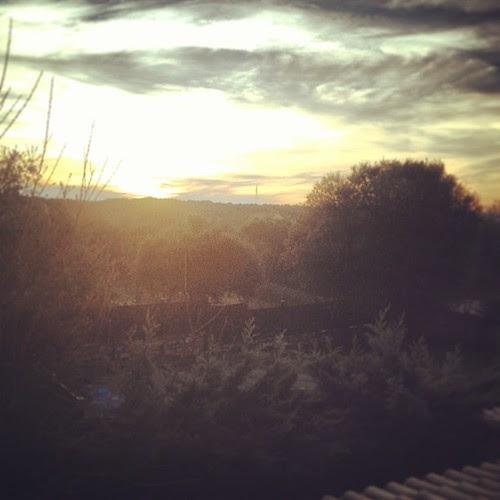 Sunrise by la casa a pois