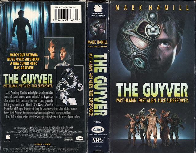 THE GUYVER (VHS Box Art)