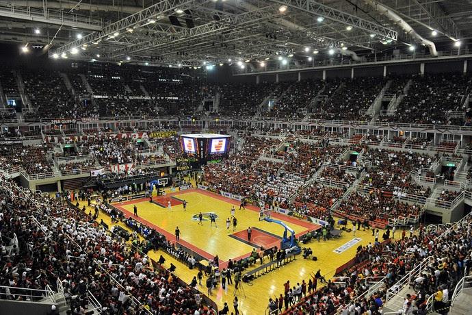 arena da barra final nbb flamengo uberlandia (Foto: João Pires/LNB)