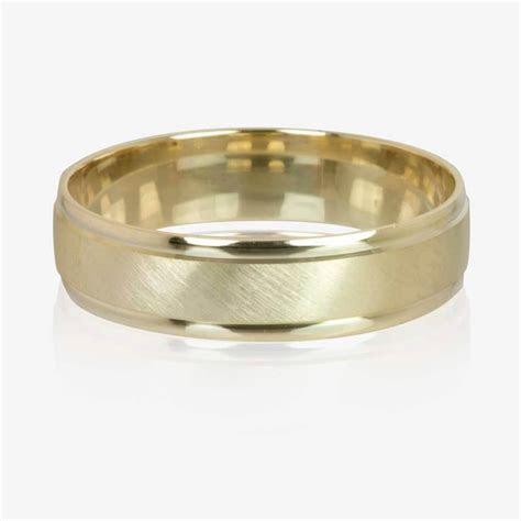 9ct Gold Luxury Weight Men's Wedding Ring