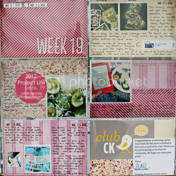 Project Life - Week 19