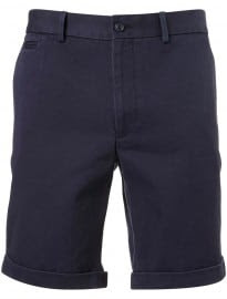 Topman Navy Twill Cinch Tailored