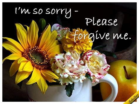 A Sincere Apology. Free Sorry eCards, Greeting Cards   123