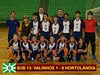 Base de Valinhos no sábado obtém 2 vitórias e 1 derrota pela fase regional do Piratininga