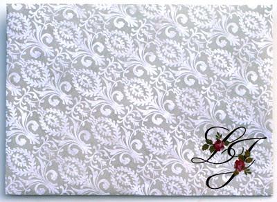 Envelope for Jan and Lori