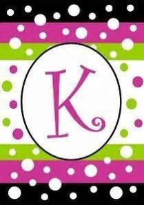 1000  images about K is for Kari on Pinterest   Letter k