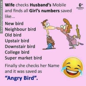 Funny Husband Wife Quotes Sayings