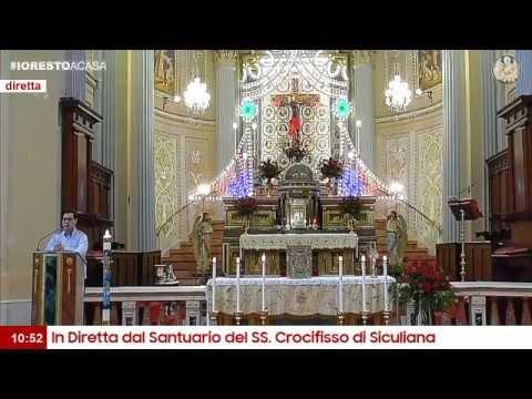 In Diretta - Solenne Celebrazione Eucaristica in onore del SS. Crocifisso
