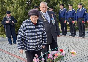 """На Черноморском флоте почтили память моряков, погибших на линкоре """"Новороссийск"""""""