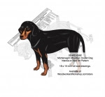 Montenegrin Mountain Hound Intarsia or Yard Art Woodworking Plan - fee plans from WoodworkersWorkshop® Online Store - Montenegrin Mountain Hound dogs,pets,animals,dog breeds,intarsia,yard art,painting wood crafts,scrollsawing patterns,drawings,plywood,plywoodworking plans,woodworkers projects,workshop blueprints