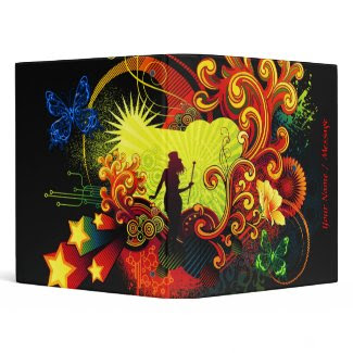 Butterfly Art 20 Binder binder