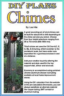 Diy Tubular Bell Chimes Say It With Chimes