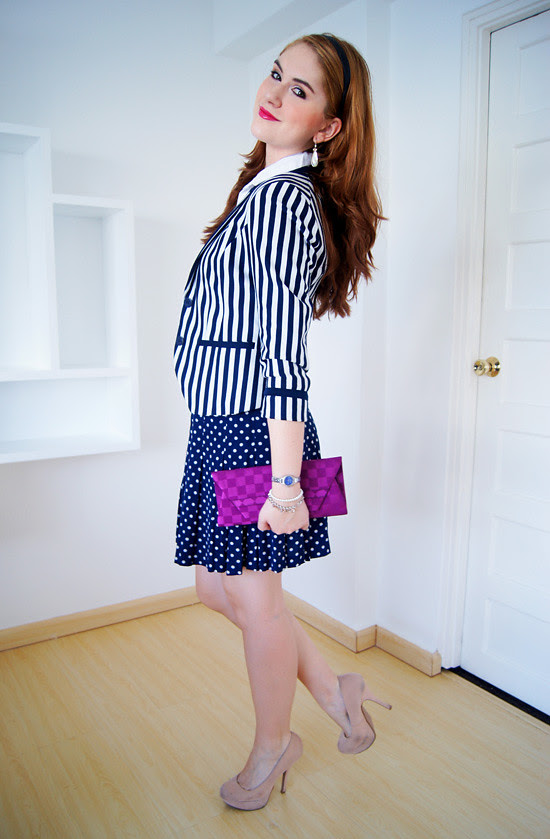 Pattern mixing by The Joy of Fashion (2)
