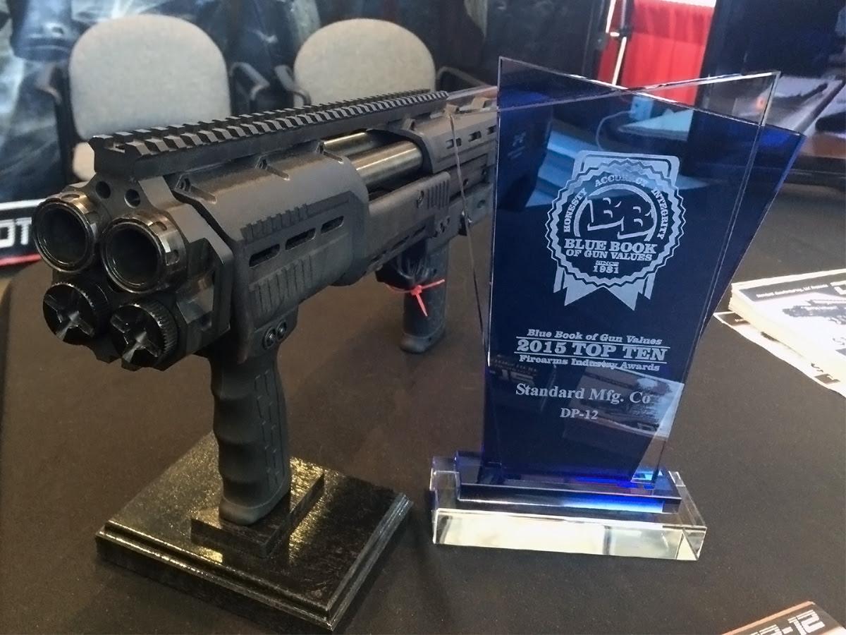 Dp 12 Wins Blue Book Of Gun Values Top Ten Firearms Industry Award