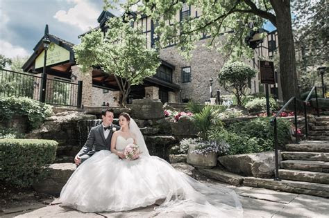 Intimate Old Mill Toronto Wedding with a Charming