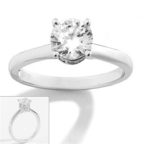 Simply Vera Vera Wang 14k White Gold 1 ct. T.W. Diamond
