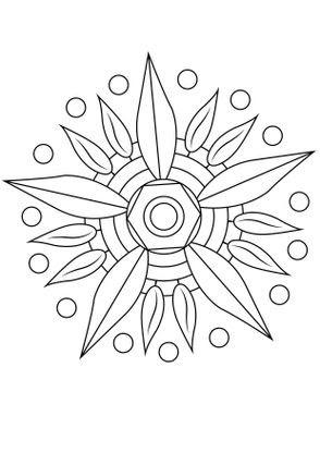 Coloriage Mandala Fleur 12 Coloriage Mandalas Coloriages
