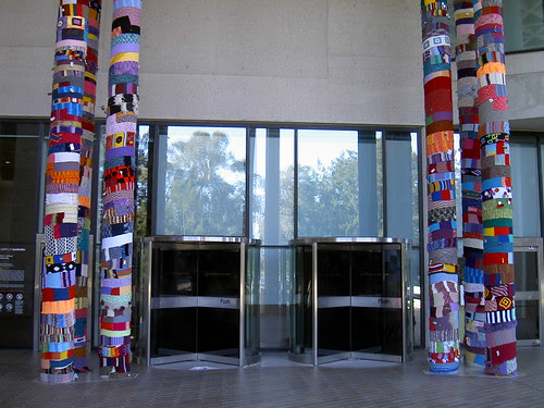 Knitta Please, National Gallery of Australia, Canberra