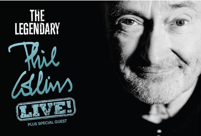 """""""The Legendary Phil Collins Live"""": Phil Collins retorna aos palcos na América Latina; confira os preços!!"""