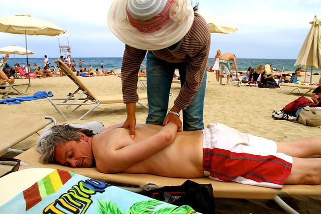 beach massage 6299