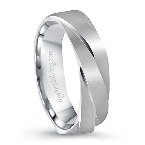 Unique Design Engagement Ring In 14K White Gold   karolina