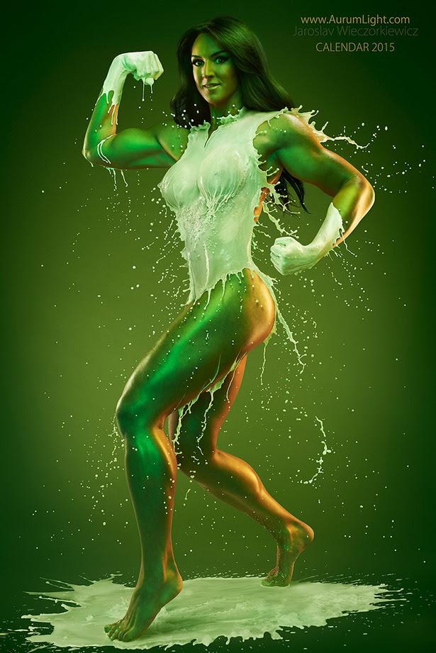 Splash Heroes Calendar : Hulka