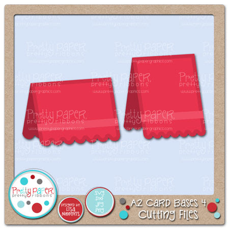 A2 Card Bases 4 Cutting Files