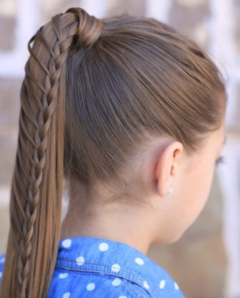 15 Sweet and Cute Hairstyles  for School
