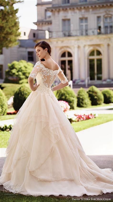 David Tutera for Mon Cheri Spring 2017 Wedding Dresses