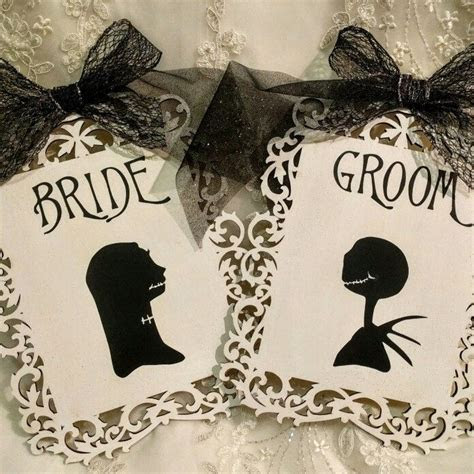 17 Best ideas about Nightmare Before Christmas Wedding on