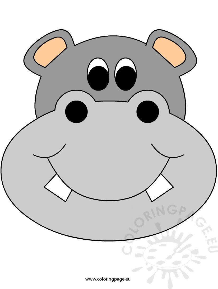 face mask hippo2
