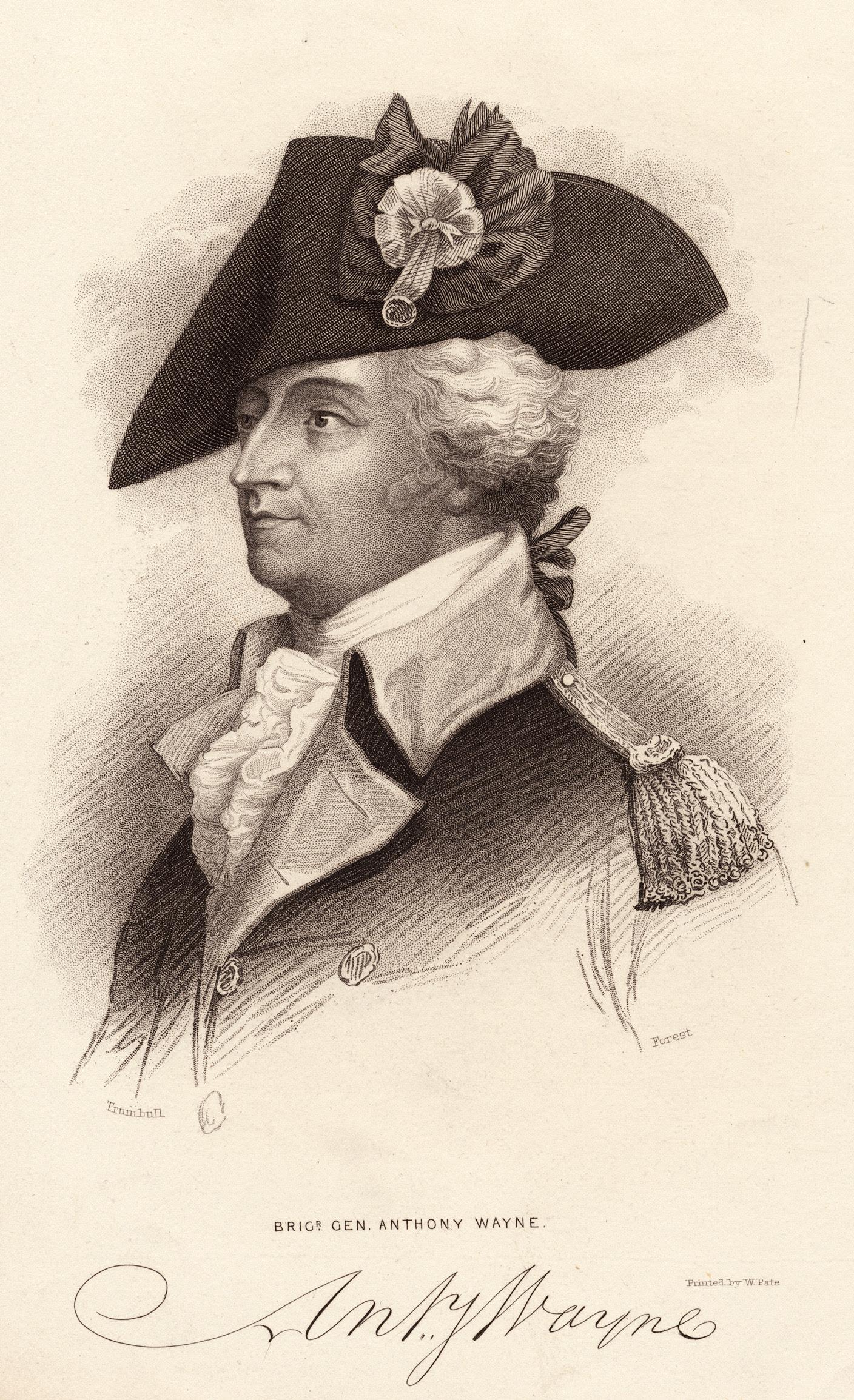 General 'Mad' Anthony Wayne