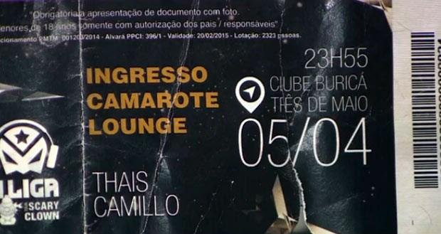 Edelvania e Leandro foram a uma festa um dia após morte do menino (Foto: Reprodução/TV Globo)