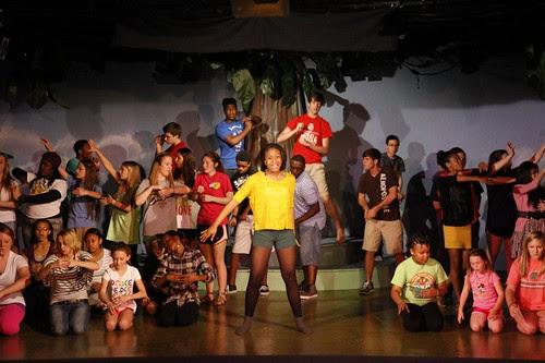 Once Upon This Island, Academy of Children's Theater by trudeau