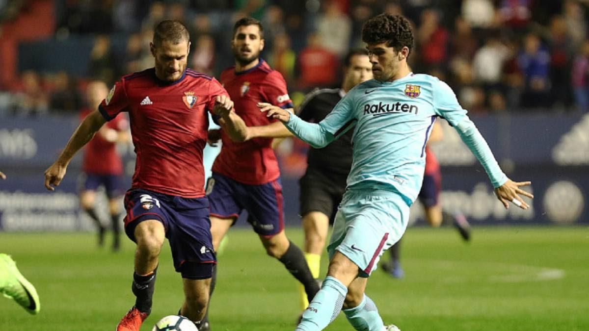 Empates de Osasuna y Lugo que les mantienen igualados en lo alto de la clasificación.