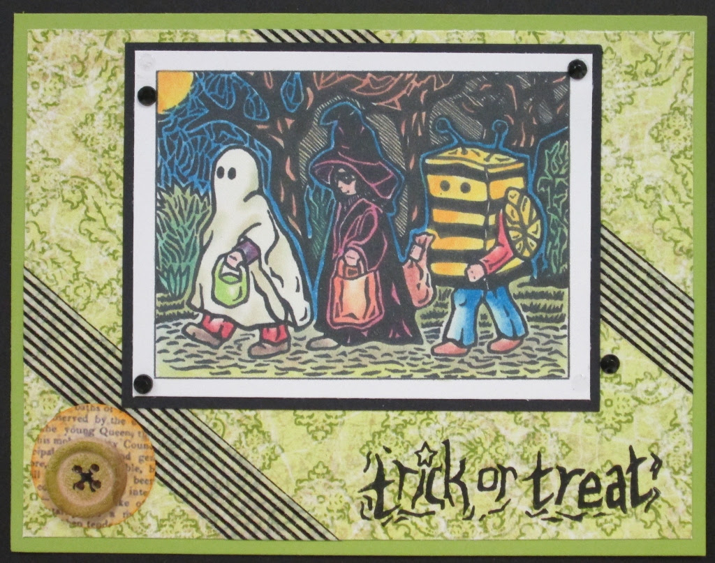 Inky AnticsTrick or Treaters