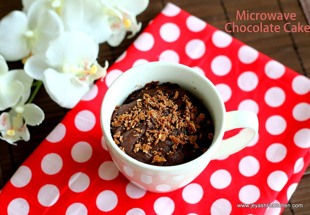 how to make chocolate from cocoa powder in microwave