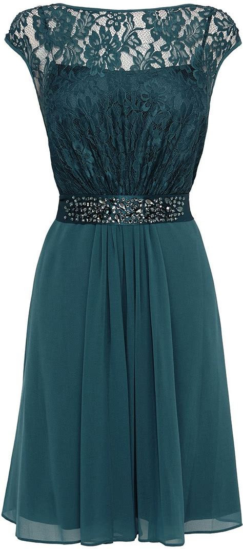 Womens dark teal dress from Coast   £129 at