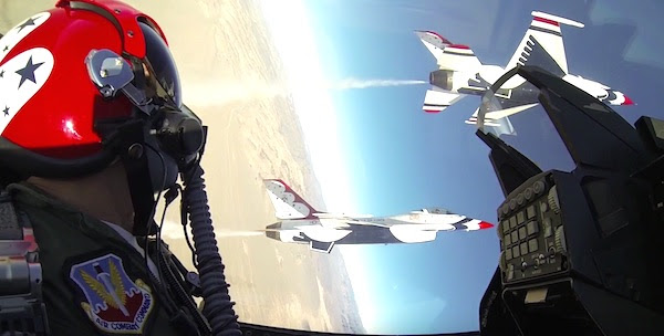 (Photo: YouTube, U.S. Air Force Thunderbirds)